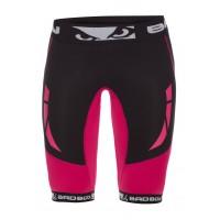 Компрессионные шорты женские Bad Boy Compression Shorts Black/Pink M