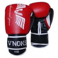 Боксерские перчатки V`Noks Lotta Red 12 ун.
